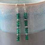 Fair trade, Fairly Traded, Fairly Traded Earrings, Earrings, slow fashion, ethical fashion, boho fashion, unusual jewellery, silver, fine silver, silver earrings, elegant earrings, handmade earrings, handmade silver, handcrafted, stamped silver, oxidised silver, jewellery, jewelry, women, jewellery for women, ethical jewellery, hill tribe silver, Karen jewellery, Karen jewelery, boho chic, bohemian fashion, free spirit jewellery, accessories, Ethical, Ethically made, Ethical fashion, ethical jewelry, tribal, tribal earrings, ethnic jewellery, ethnic jewelry, inspired by nature, gemstone earrings, semi-precious stones, birthstone jewellery, birthstone earrings, faceted stones, May birthstone, emerald quartz, green stone, green earrings, emerald earrings, May, emerald quartz drop earrings