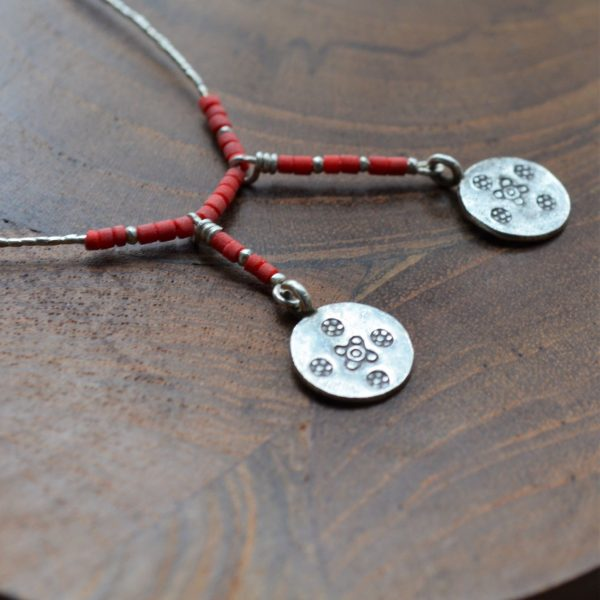 Fair trade, Fairly Traded, Fairly Traded necklace, necklace, neck wear, pendant necklace, elegant necklace, statement necklace, slow fashion, ethical fashion, boho fashion, unusual jewellery, unusual jewellery uk, silver, fine silver, silver bracelet, elegant, handmade necklace, handmade silver, handcrafted, stamped silver, oxidised silver, jewellery, jewelry, women, jewellery for women, ethical jewellery, hill tribe silver, Karen jewellery, tribal silver, boho chic, bohemian fashion, free spirit jewellery, accessories, Ethical, Ethically made, Ethical fashion, ethical jewelry, , unique jewellery, artisan made, Unique silver jewellery, ethnic silver, ethnic silver jewellery UK, Tia Fine Strand Necklace, Tia,